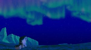 Ariel and the NorthernLights by AleahDani