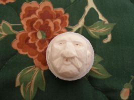 Hand Carved Golf ball by Des804