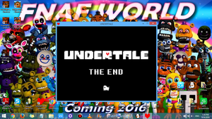 Undertale Finished (Pacifist Run) by HTF-ADTI-MLP100606