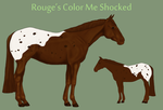 Rouge's Color Me Shocked by theRyanna