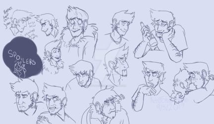 Nathaniel Expression Sheet (2017) by Stabilization