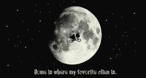ET- Home Is Where My Favorite Alien Is by Kabuki-Sohma
