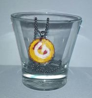 Harry Potter Gryffindor Necklace by wolf-girl87