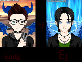 .:AFNG:. Rotten F*cking Children. .:Cody And EJ:. by xXAlchemistAngelXx