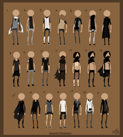 Outfit Designs by Immonia
