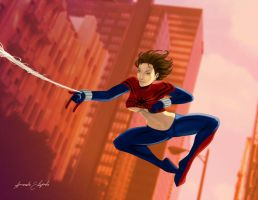 Spider Girl by arm01