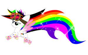 Rainbow Powered Blissy by Lightning-Bliss