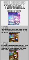Icon Tutorial | How I Do My Icons. [Update] by LadyPirouette