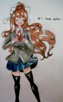 Monika~ Doki Doki Literature club by IncredibleNyan1