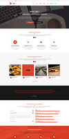 Ori  Multipurpose Business PSD Template by begha