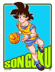 Dragon B-Ball (ver.2) Son Goku by kevinbolk