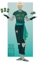 [closed] Adopt - Fortune Teller by fionadoesadopts
