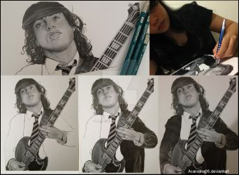 Angus Young lastest WIPs_ID by Acaroline05