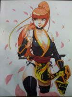 Kasumi Marker Sketch by Robaato
