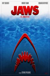 Jaws 40th Anniversary Poster_1 by DanieleRedRossini