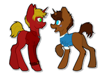 Little Colts by Spitfire-SOS
