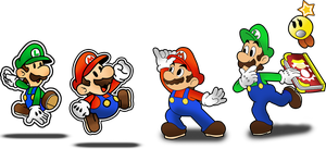 Mario and Luigi: Paper Jam by Fawfulthegreat64