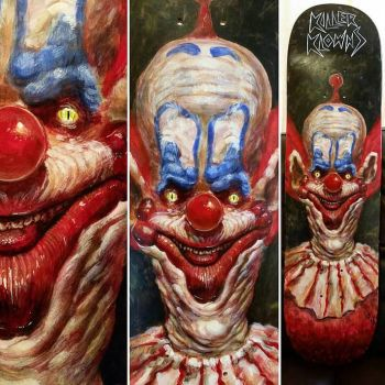Slim the killer klown from outerspace by brucethebandit