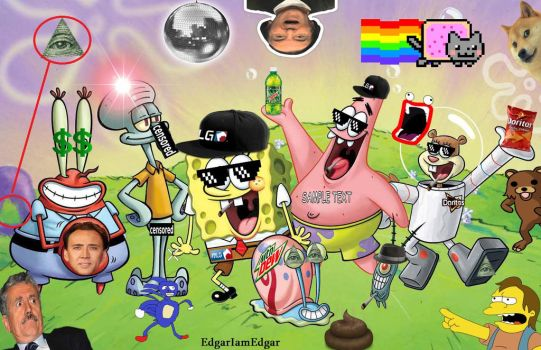 #edgariamedgar | Explore edgariamedgar on DeviantArt Funny Spongebob And Patrick Memes