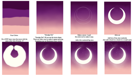 Simple How To [Twilight Background} by Aliyune