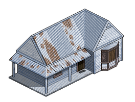 Old House - Version 1 by pixelatedlife