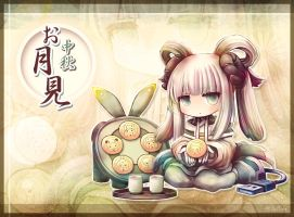 ~2013 Moon Festival ~Postcard by crellia