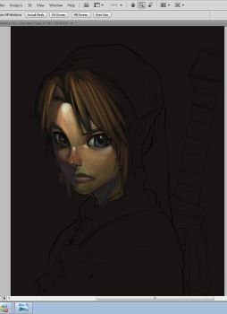 Link Wip by Brolo