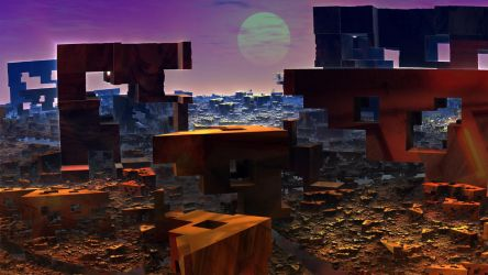 Ruins On the Rising Sun by Topas2012