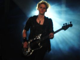 Mikey Way. MCR in Valencia by Ziessel