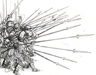 A pikeman's push by Stormcrow135