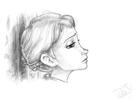 Frozen, Elsa by ArtfulFoxes