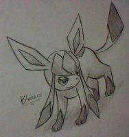 Glaceon 9 by BluuKiss