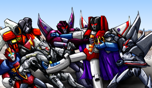 The Many Incarnations of Starscream by SoundBluster