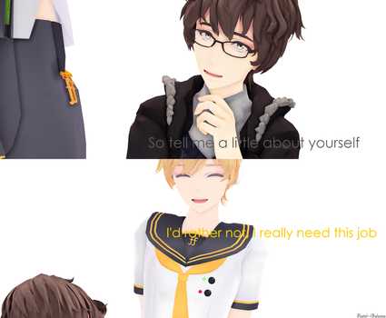 Tell Me About Yourself, Len by Pastel--Galaxies