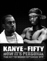 fifty vs kanye by rebs924
