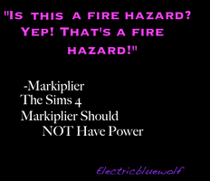 Markiplier Meme: Fire Hazard by SpellboundFox