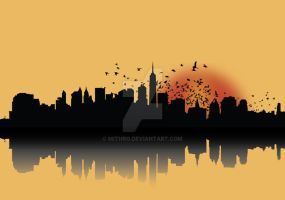NYC morning by mithro