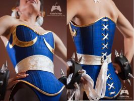 Chun-Li Corset for Child's Play by gstqfashions