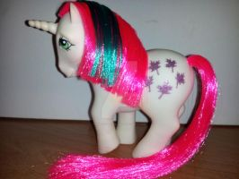 My Little Pony G1 Alternate Rehair Reverse Gusty by MikeysGrrrl