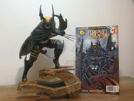 DARKCLAW statue finished by darknightsad