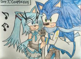Day 7: Cosplaying by Sonicgirlfriend65