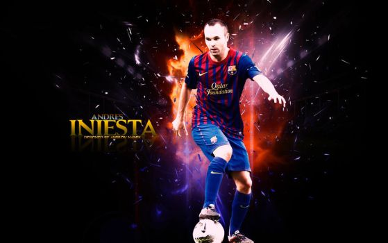 13. Andres Iniesta by RGB7