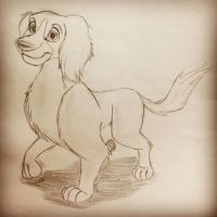 Me as Cocker Spaniel 2.0 ^^ by CarameliaBriana