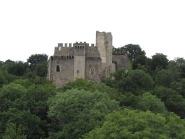 Castle I by fairling-stock