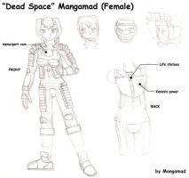 Dead Space Mangamad female ver by Mangamad