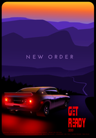 New Order - Get Ready Album cover by SlideSwitched