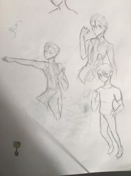 YuriOnIce Sketches  by Ailizerbee08