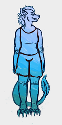 Another Blue Alien by ChimericMachinations