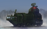 Railgun vehicle by inzvy