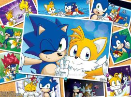 Sonic + Tails : Always With Me by tigerangel